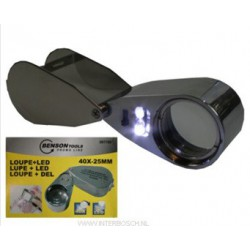 loupe + led diamantair