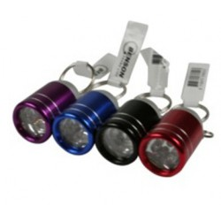 sleutelhanger zaklamp mini 6 x LED