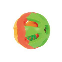 Rabbit toys ball D12CM YELLOW&RED&GREEN (001132)