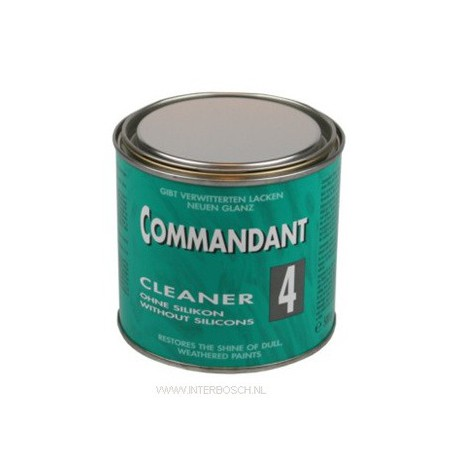 commandant cleaner 4