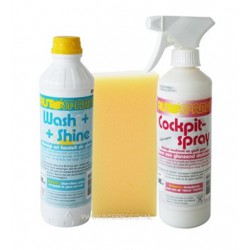 autoshampoo Wash & shine set 2 dlg + spons